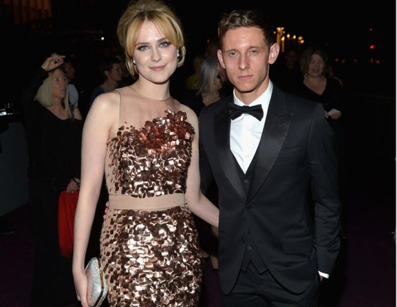 En enlace matrimonial entre la actriz y Jamie Bell tuvo lugar en California el 30 de octubre, según confirmó un representante de Wood a la revista Us Weekly.