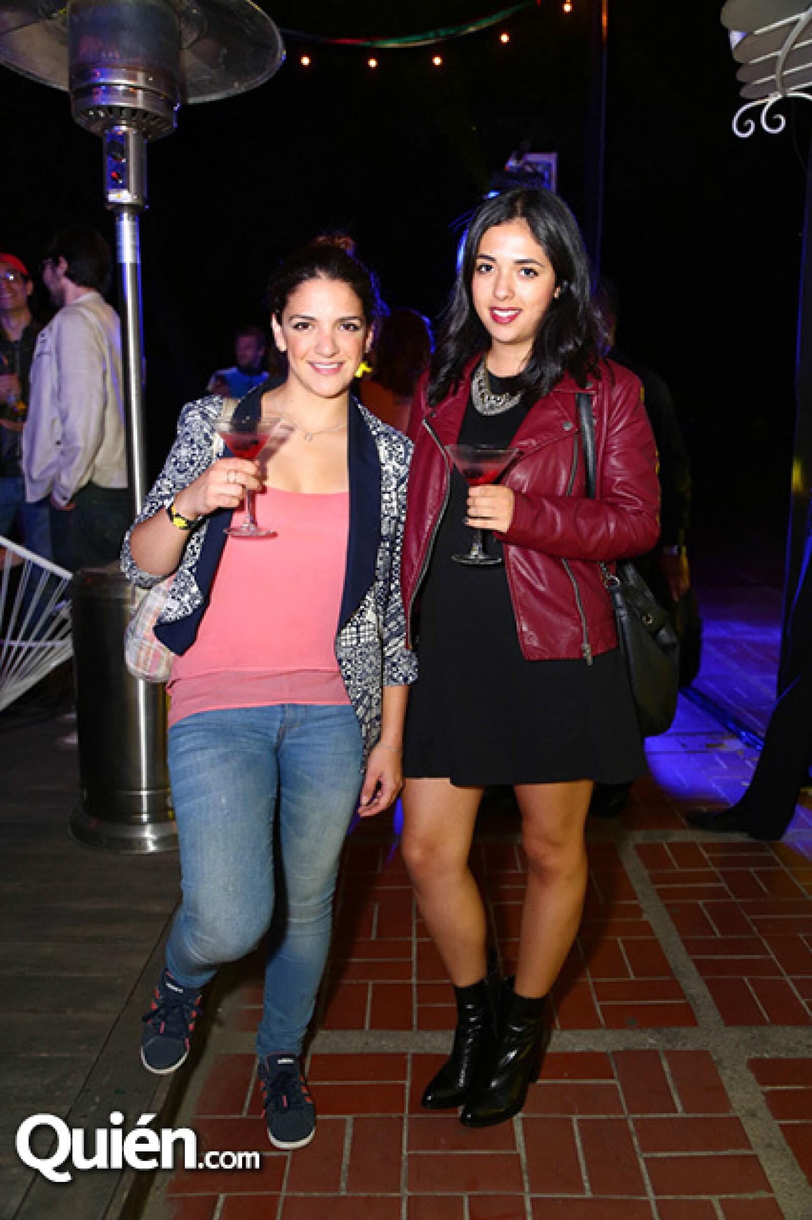 Fernanda Perabeles y Andrea Macías