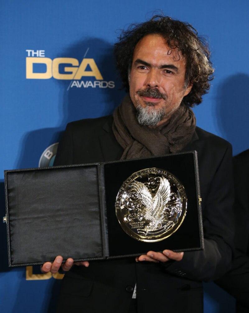 Una vez más el director mexicano se lleva reconocimiento en la 67 entrega anual de los premios del Sindicato de Directores.