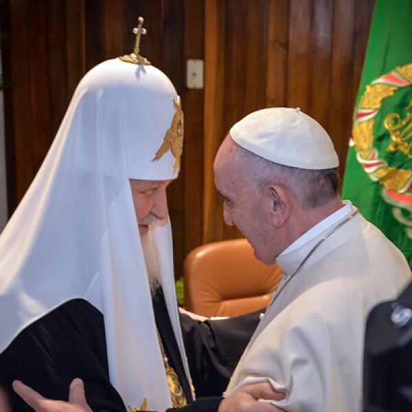 Es el primer encuentro entre los líderes de estas religiones en casi 1,000 años.