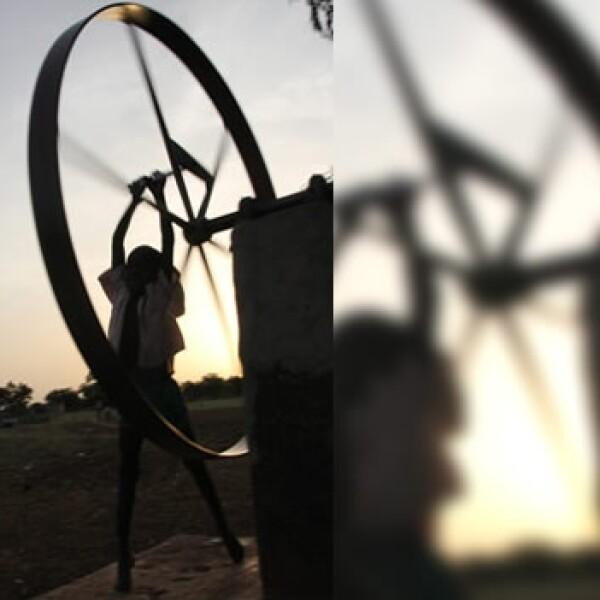 África - rueda