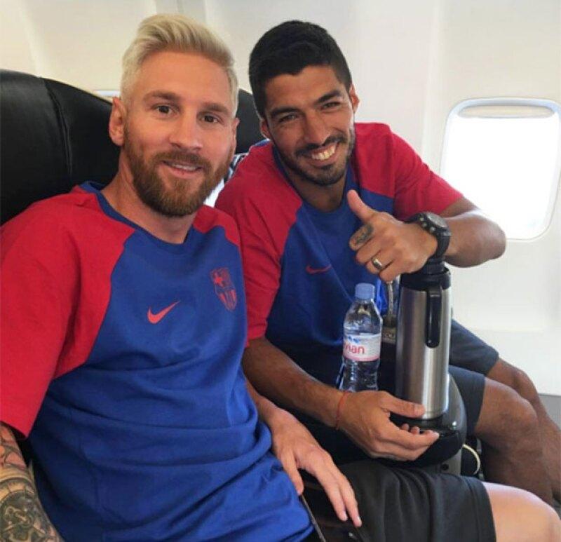 Messi empieza la pretemporada con el FC Barcelona con este cambio de look.