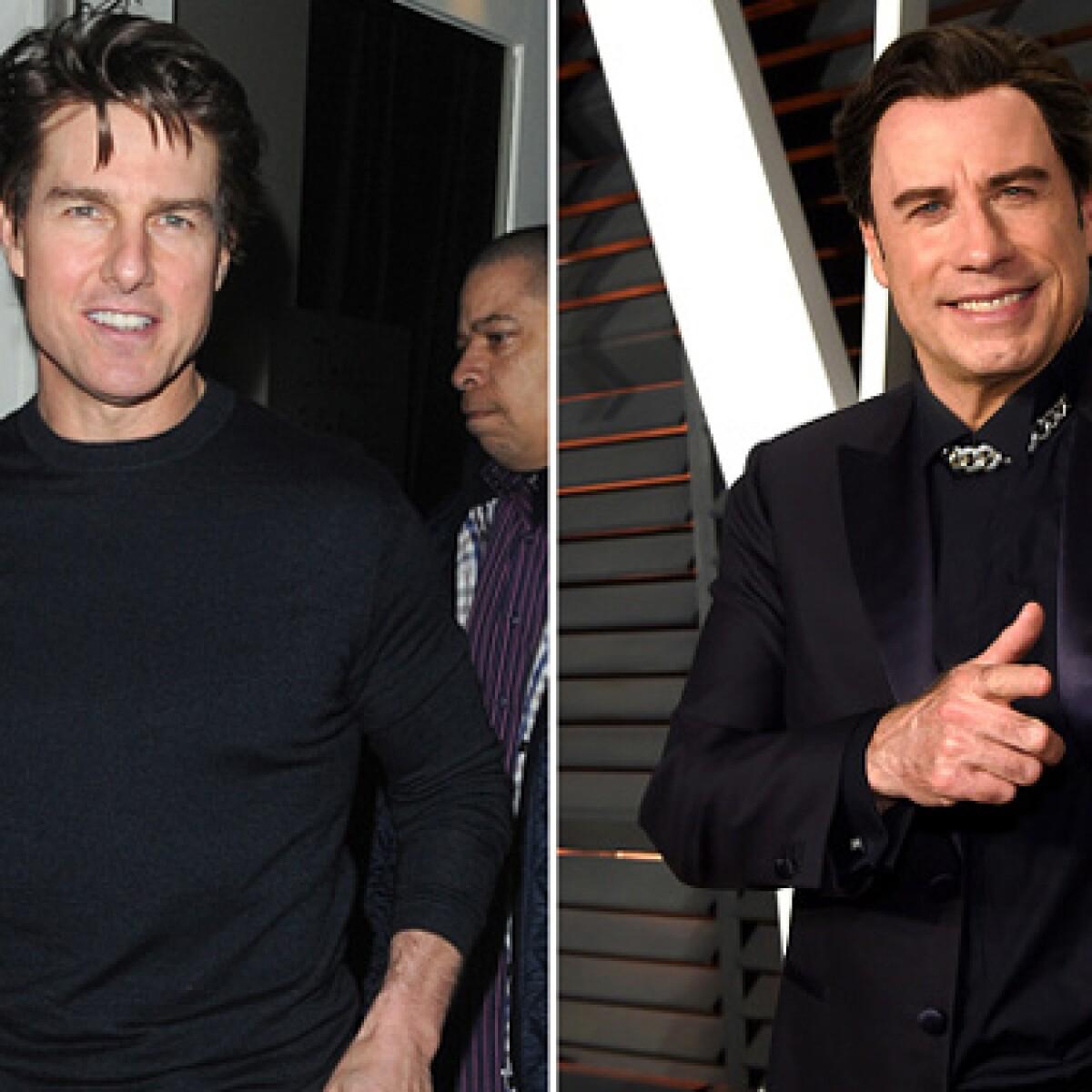 """Tom Cruise y John Travolta: los 6 momentos en que han sido """"pareja"""""""