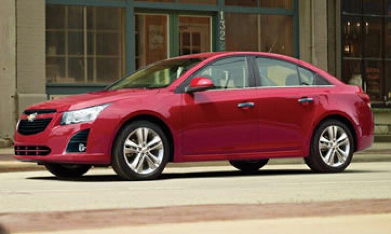 GM espera que menos del 1.0% de los vehículos llamados a revisión presenten la falla. (Foto: tomada de chevrolet.com.mx)