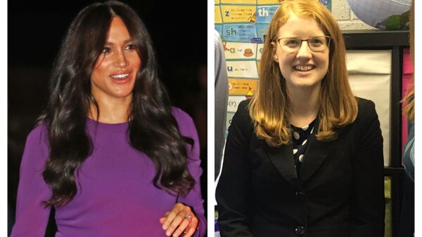 Meghan Markle y Holly Lynch
