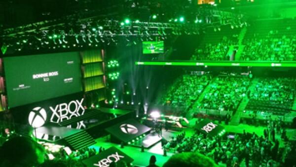 La firma presento Shape Up un juego para ejercitarse en Xbox One. (Foto: Hugo A. Juárez)
