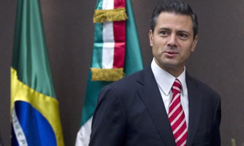 Este miércoles, el presidente electo de México, Enrique Peña Nieto, inició una visita por Brasil. (Foto: AP)