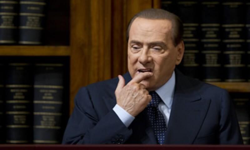 Berlusconi tiene un historial de hacer propuestas provocadoras que luego son silenciosamente abandonadas. (Foto: AP)