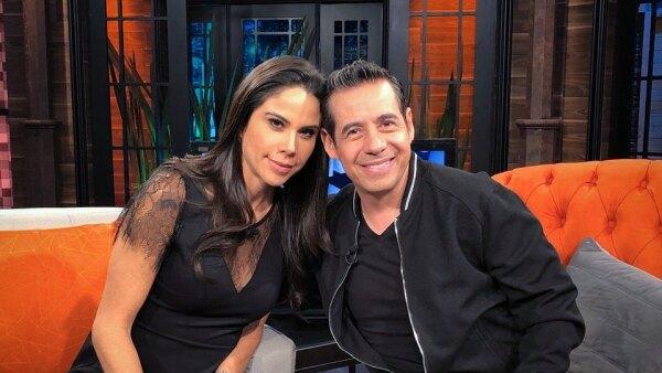 Paola Rojas y Yordi Rosado