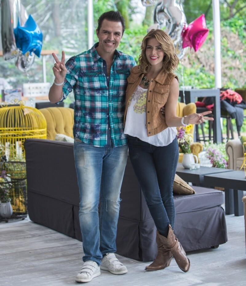 Billy Rovzar y Claudia Álvarez.