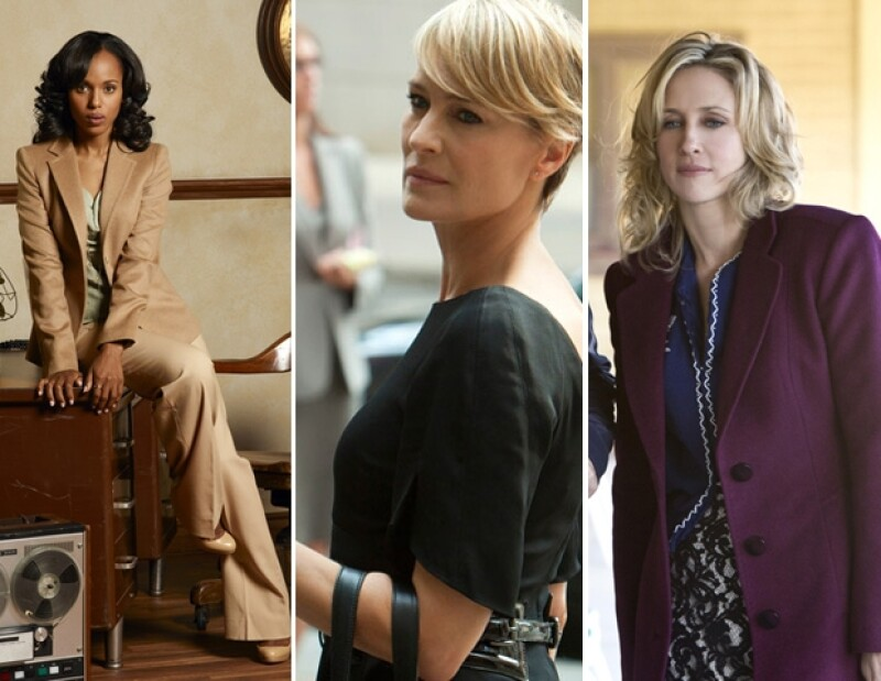Kerry Washington, Robin Wright y Vera Farmiga