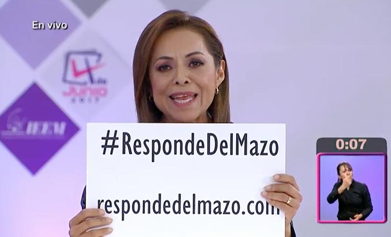 #RespondeDelMazo