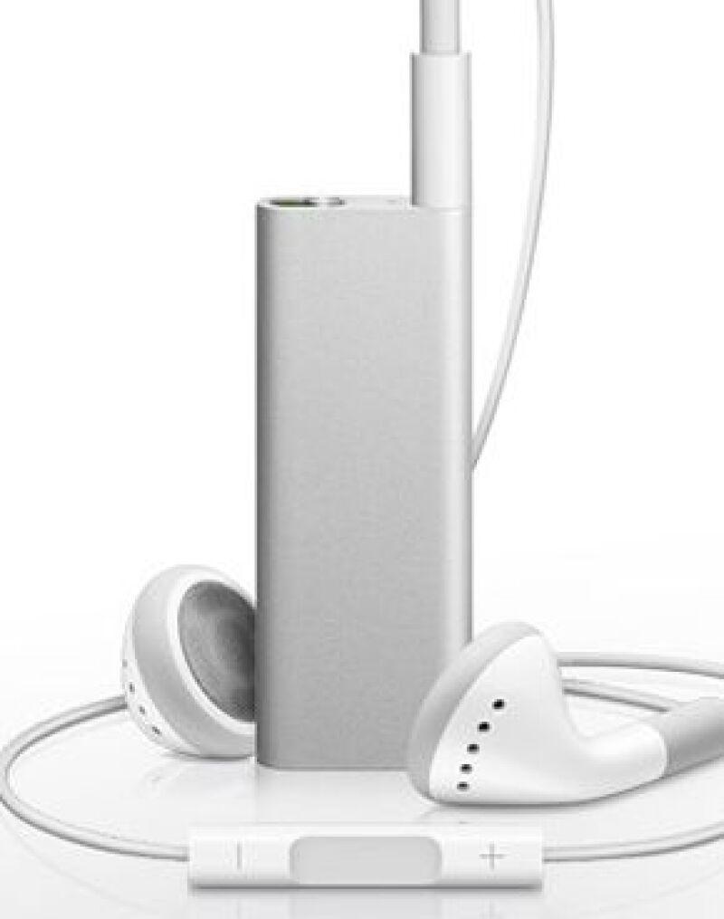 Se lanzó la tercera generación del iPod shuffle, ahora con herramienta VoiceOver