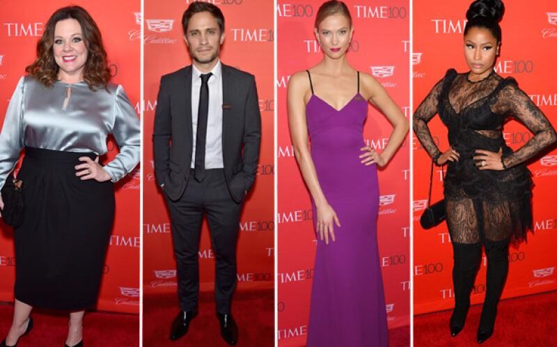 La noche de ayer algunas de las personalidades más influyentes, de acuerdo a la revista Time, se reunieron en una fiesta llena de emociones y buen ambiente.