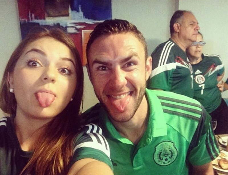 Sofía Castro compartió en Twitter e Instagram esta imagen.