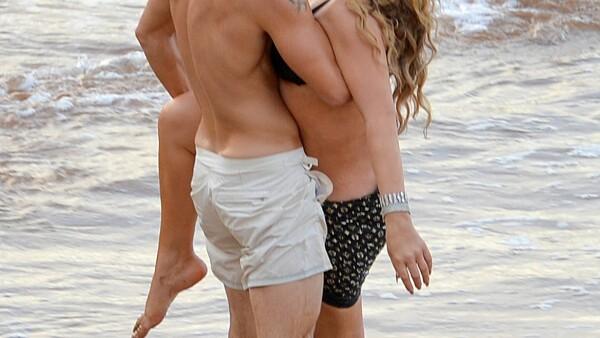 MAriah Carey y Bryan en Hawái