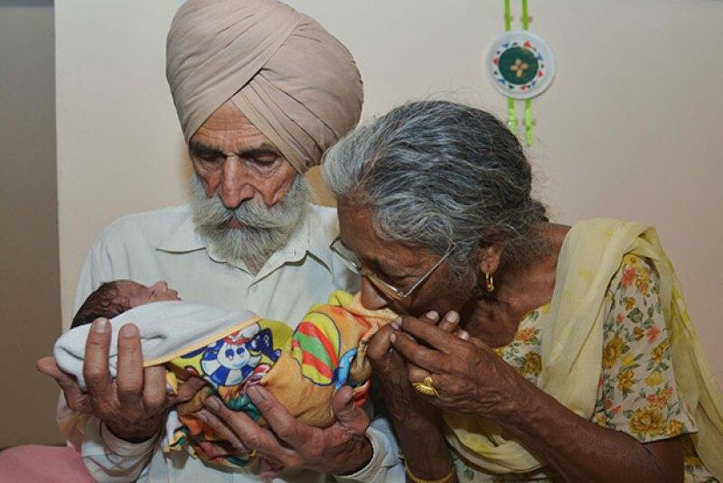 La mujer dijo que se siente con fuerza para cuidar a su bebé.
