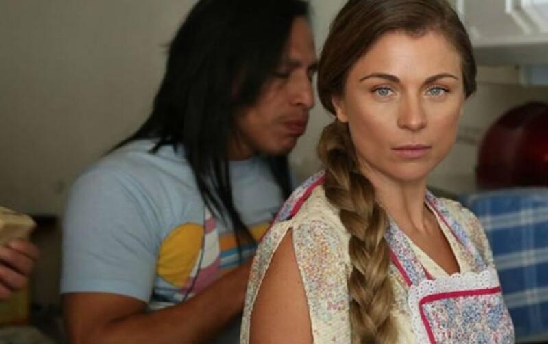"""En """"Volando Bajo"""", Ludwika interpreta a Toribia, una joven humilde y enamorada."""