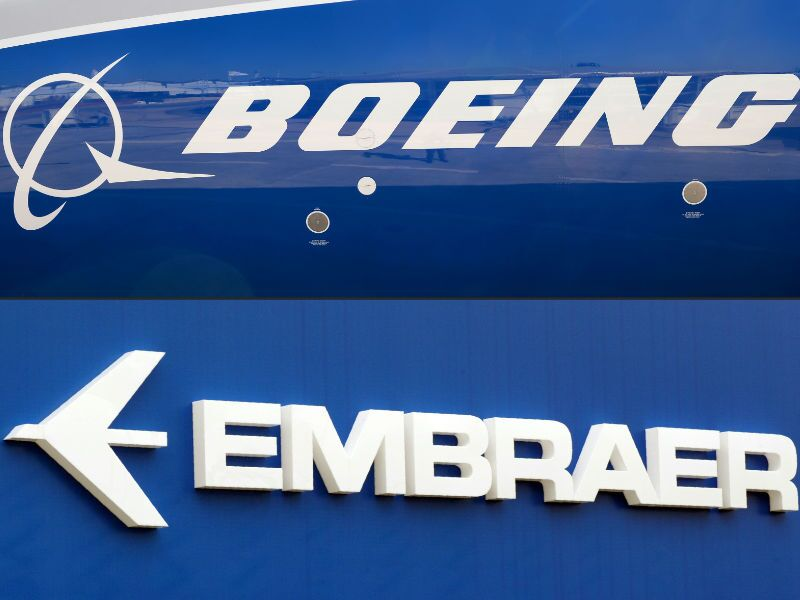 Embraer y Boeing
