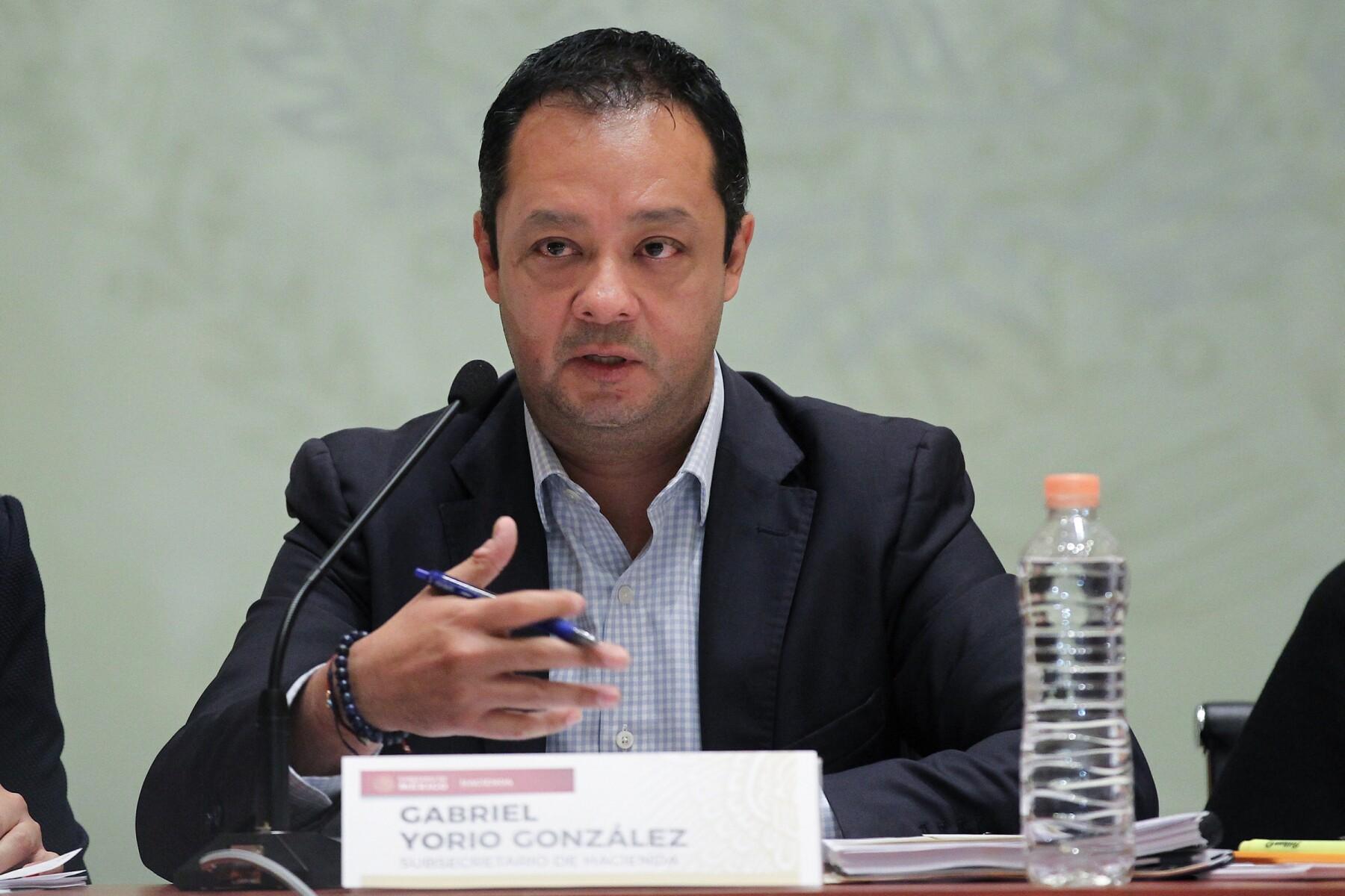 Gabriel Yorio reforma fiscal recaudación