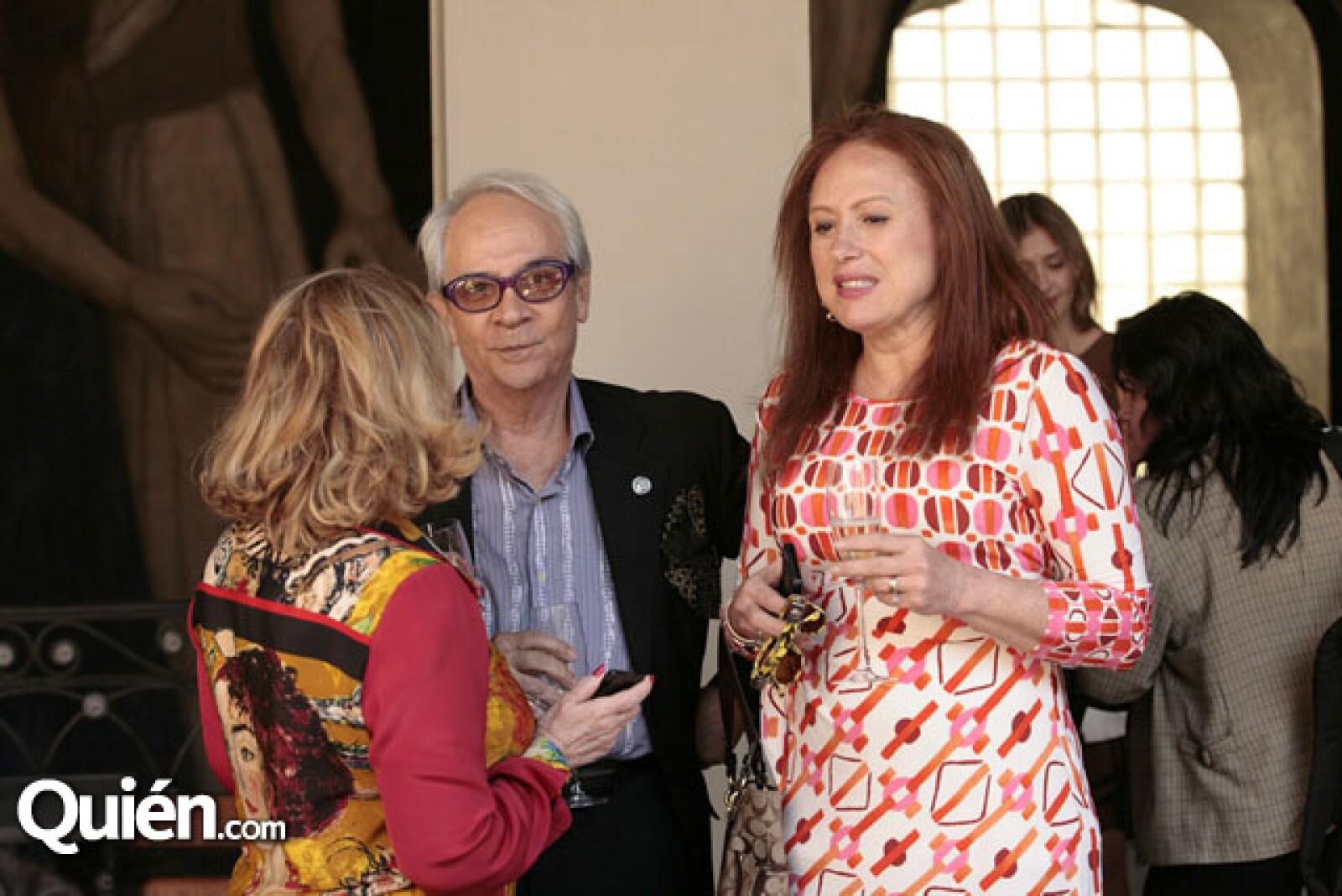 Doris Beckmann, Esteban León y Meli Lichtinger