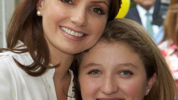 Madre e hija, Angélica y Fernanda.