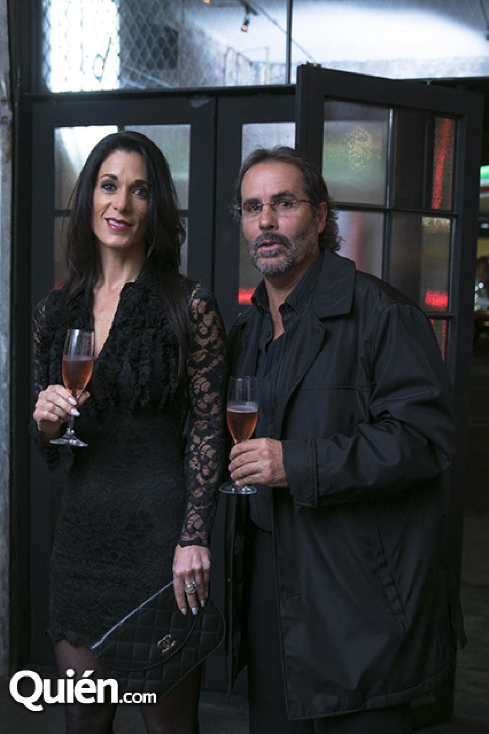 Stephanie Samuel y Rodrigo de la Macorra, papá de Oli.