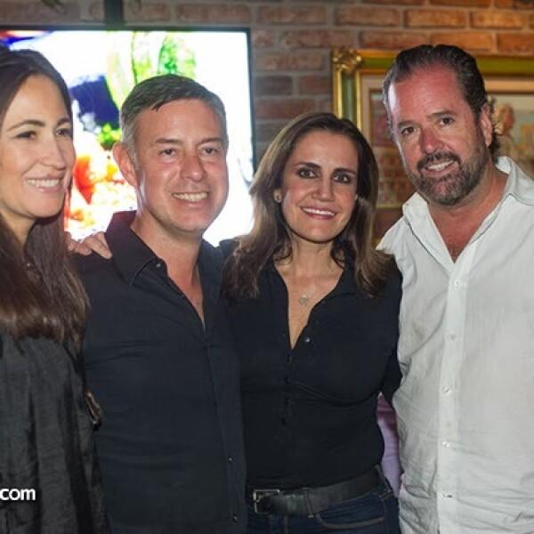 Margara Macías,Carlos Ruiz de Chávez,Trinidad Belaunzaran y Paul Zarkin