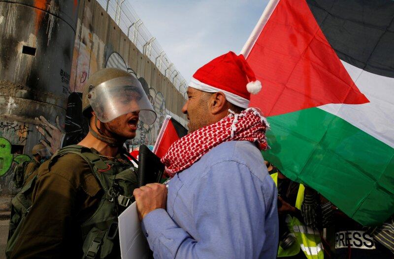 Israelíes vs. palestinos