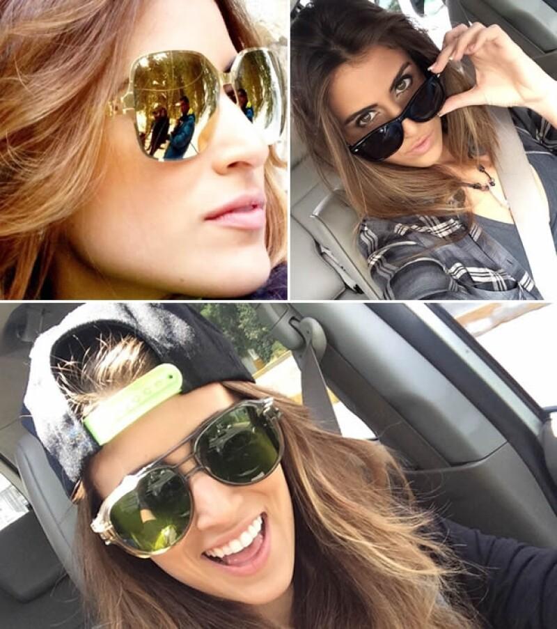 Sofía tiene diferentes tipos de lentes.