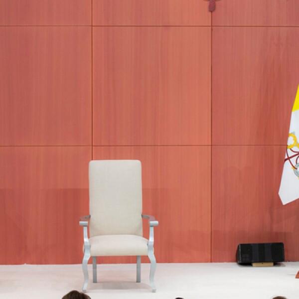 El presidente Peña Nieto dijo que las causas del papa con también las causas de México.