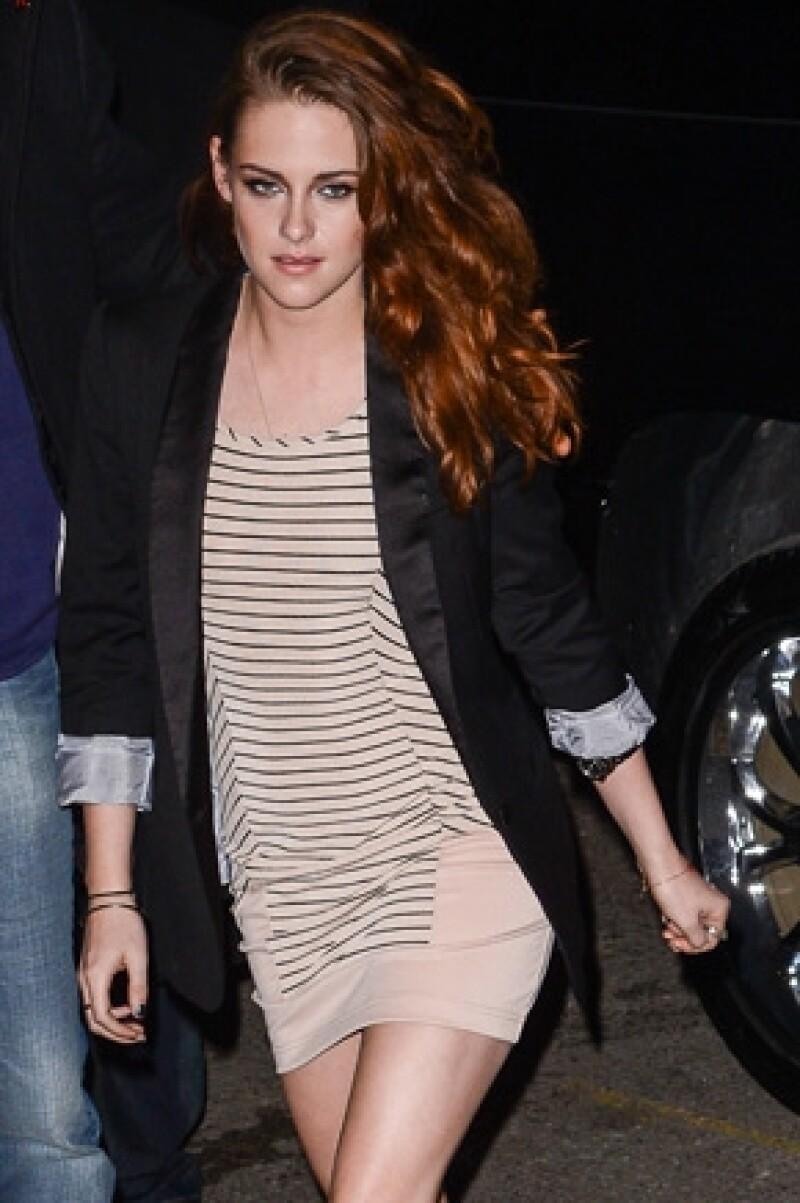 La actriz platicó en una revista que se sintió intimidada cuando tuvo que realizar una escena de baile.