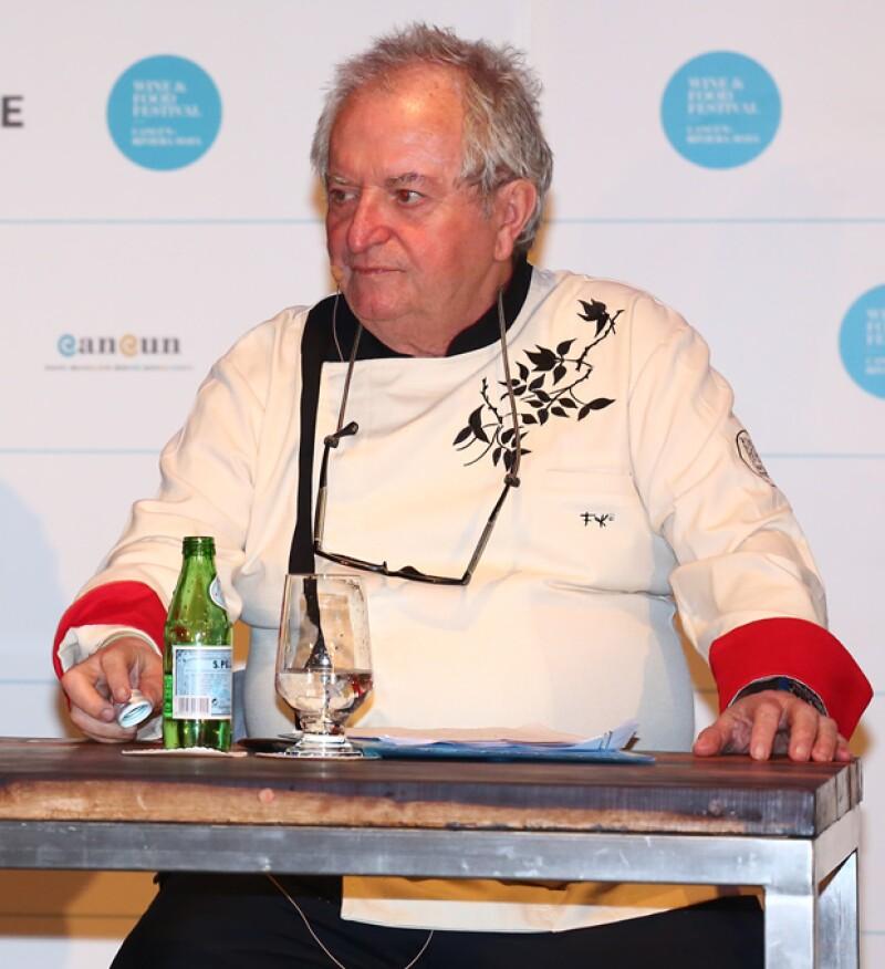 Dos leyendas españolas del mundo culinario visitaron nuestro país para asistir a la cuarta edición del Wine and Food Festival en Cancún.