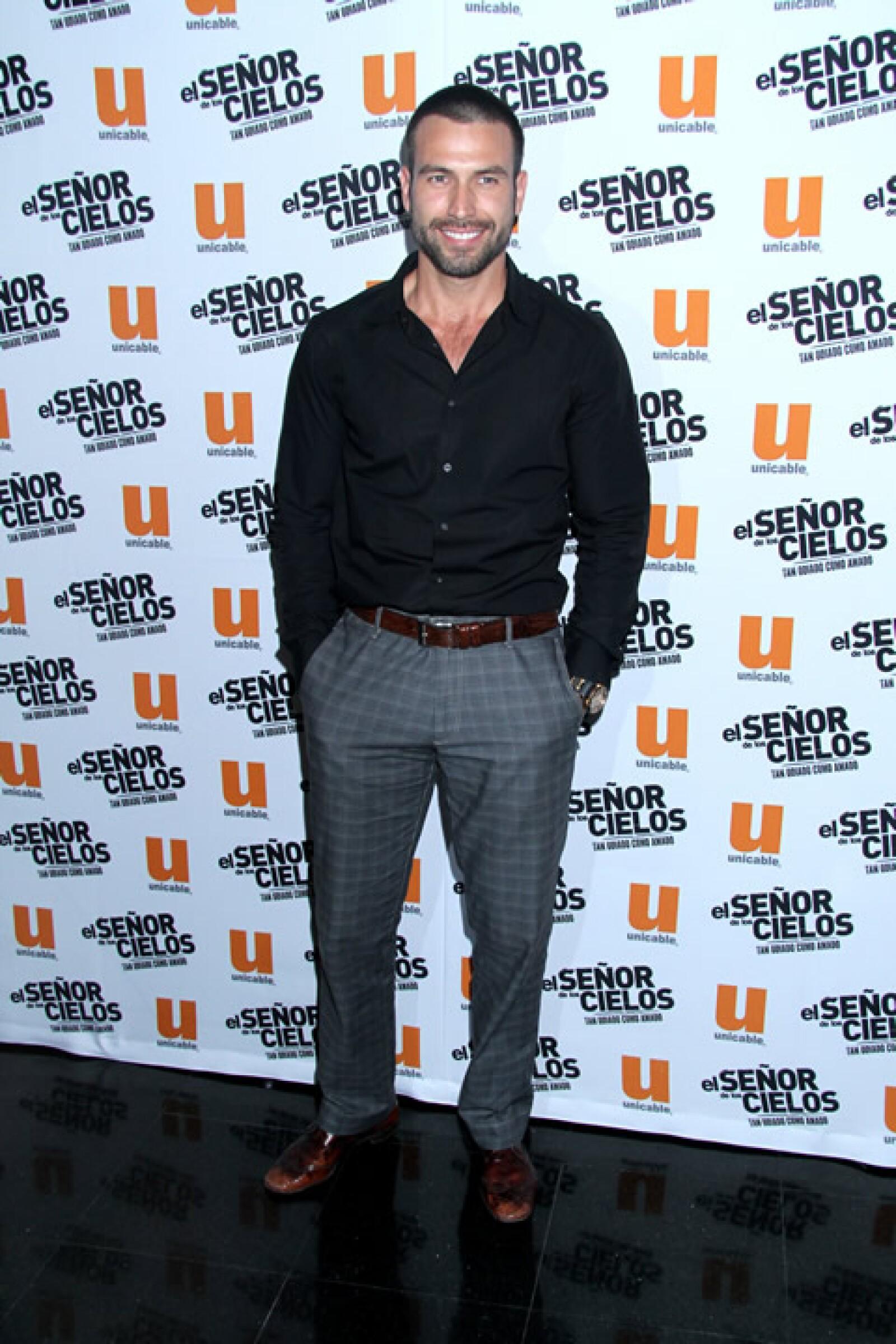 Rafael Amaya ha destacado tras su participación en telenovelas, series y películas mexicanas.