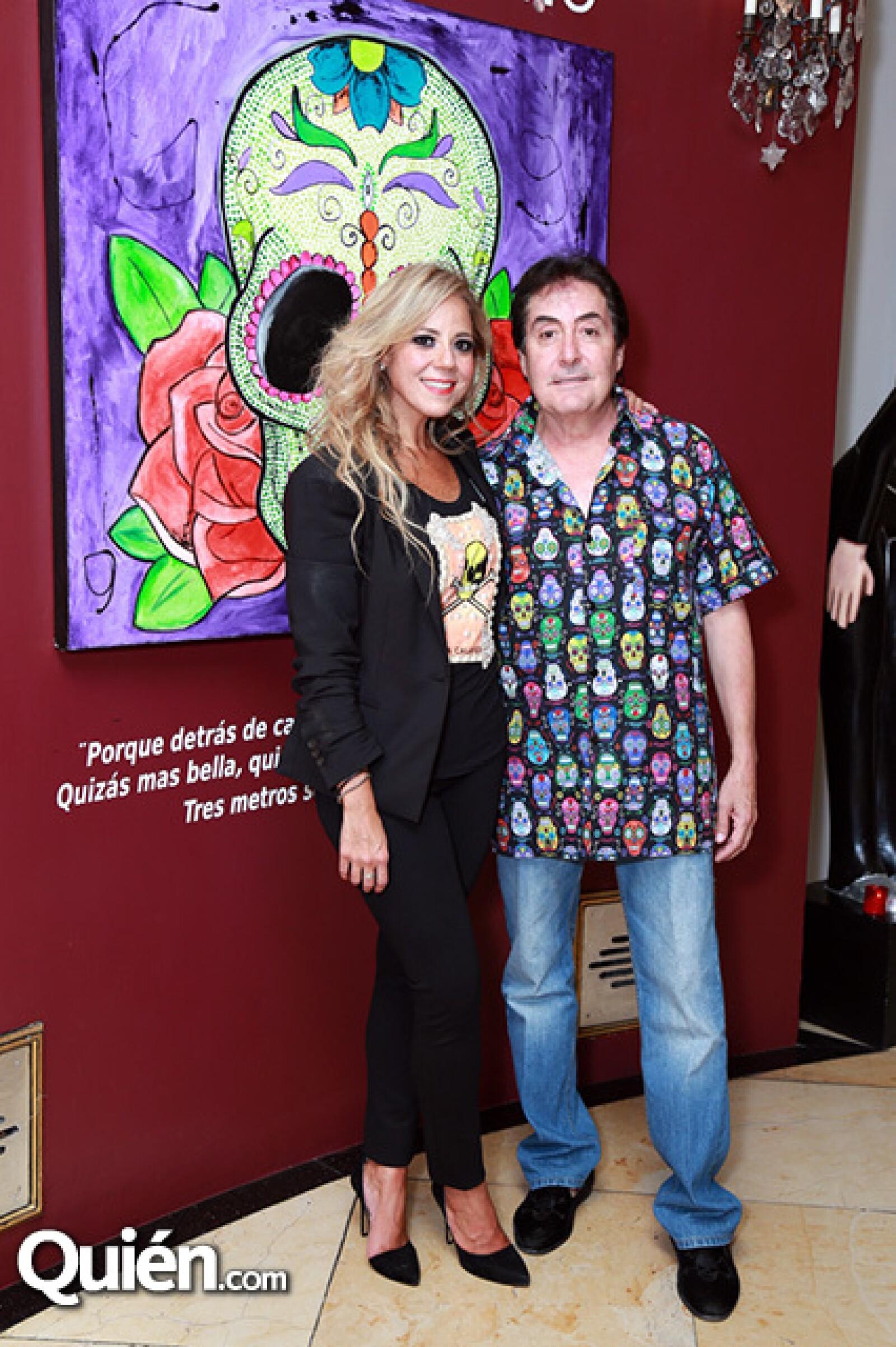 Paola Altamirano y Horacio Sáenz
