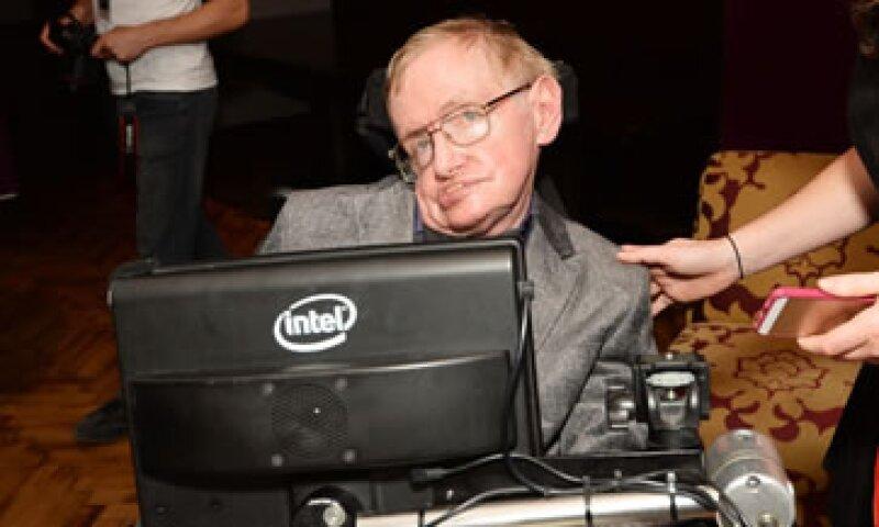 Hawking se comunica a través de ACAT, desarrollado por Intel Labs (Foto: Getty Images/Archivo )