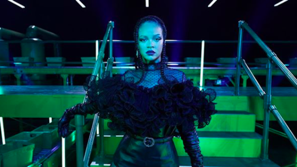 Rihanna durante Savage Fenty Vol. 2.
