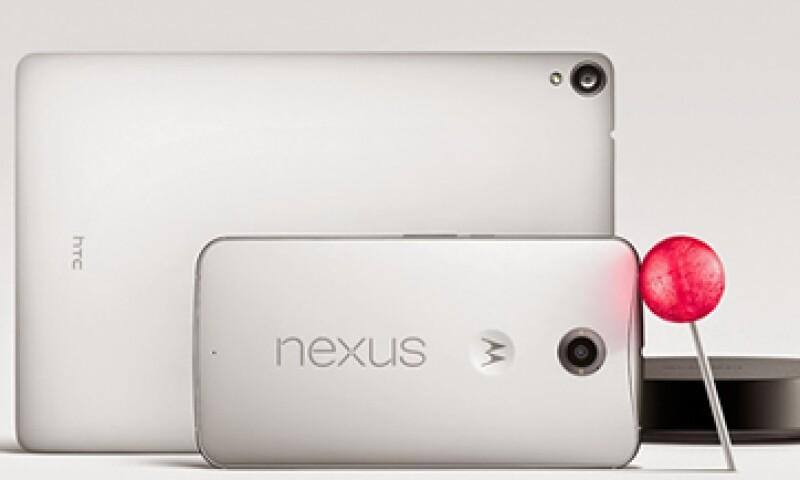 Nexus 6 es el más reciente modelo de teléfonos inteligentes de Google. (Foto: tomada de Google Blog. )