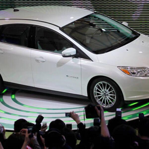 El nuevo Ford Focus también se presentó en China, país con el mayor mercado de autos del planeta, con más de 18.5 millones de unidades vendidas en 2011.