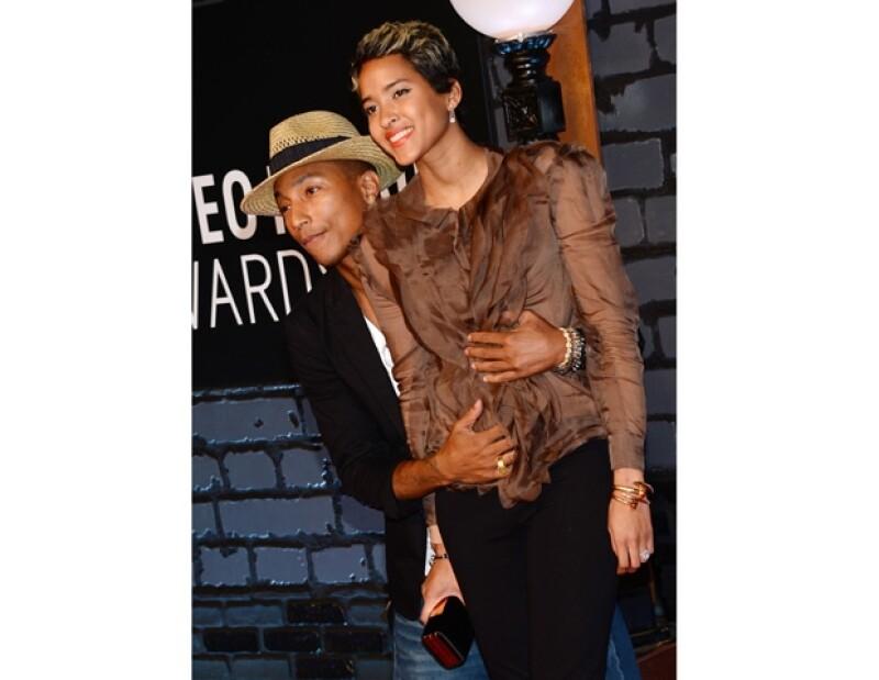 Pharrell y Helen se casaron en Florida con invitados como Usher.