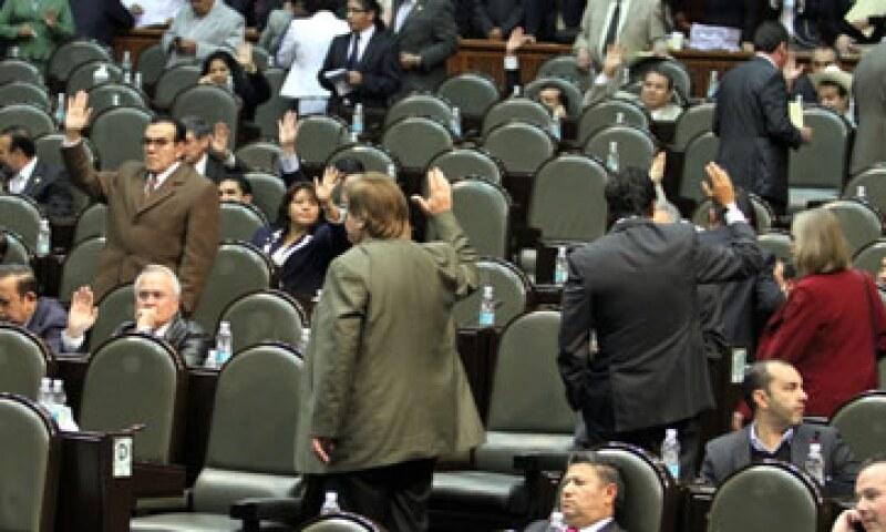 El Congreso de México completó este martes la aprobación del presupuesto nacional para el 2012. (Foto: Notimex)