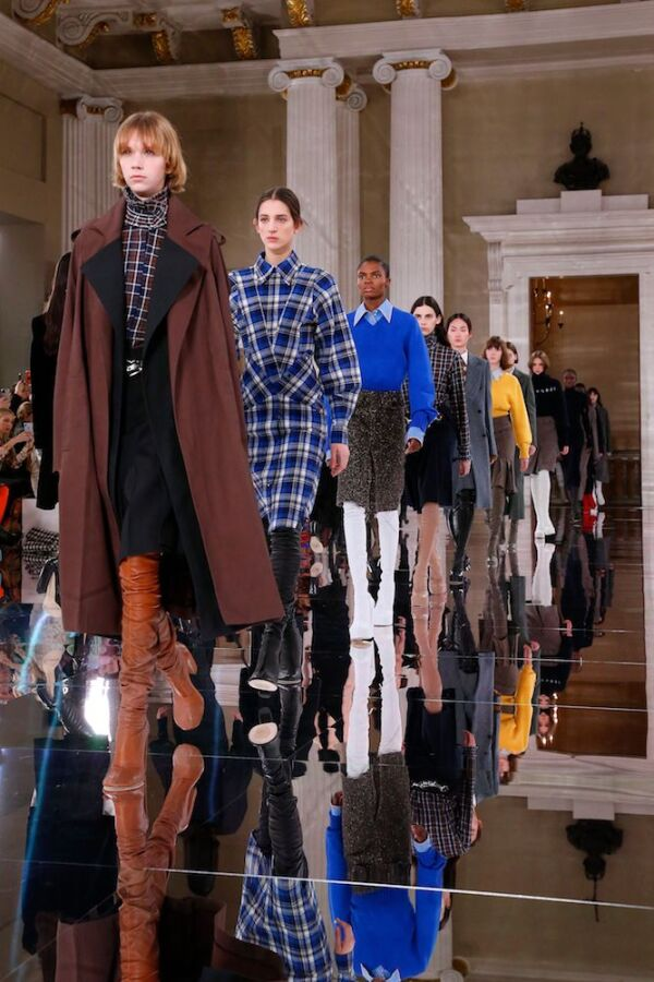 Victoria Beckham show, Runway, Fall Winter 2020, London Fashion Week, UK - 16 Feb 2020