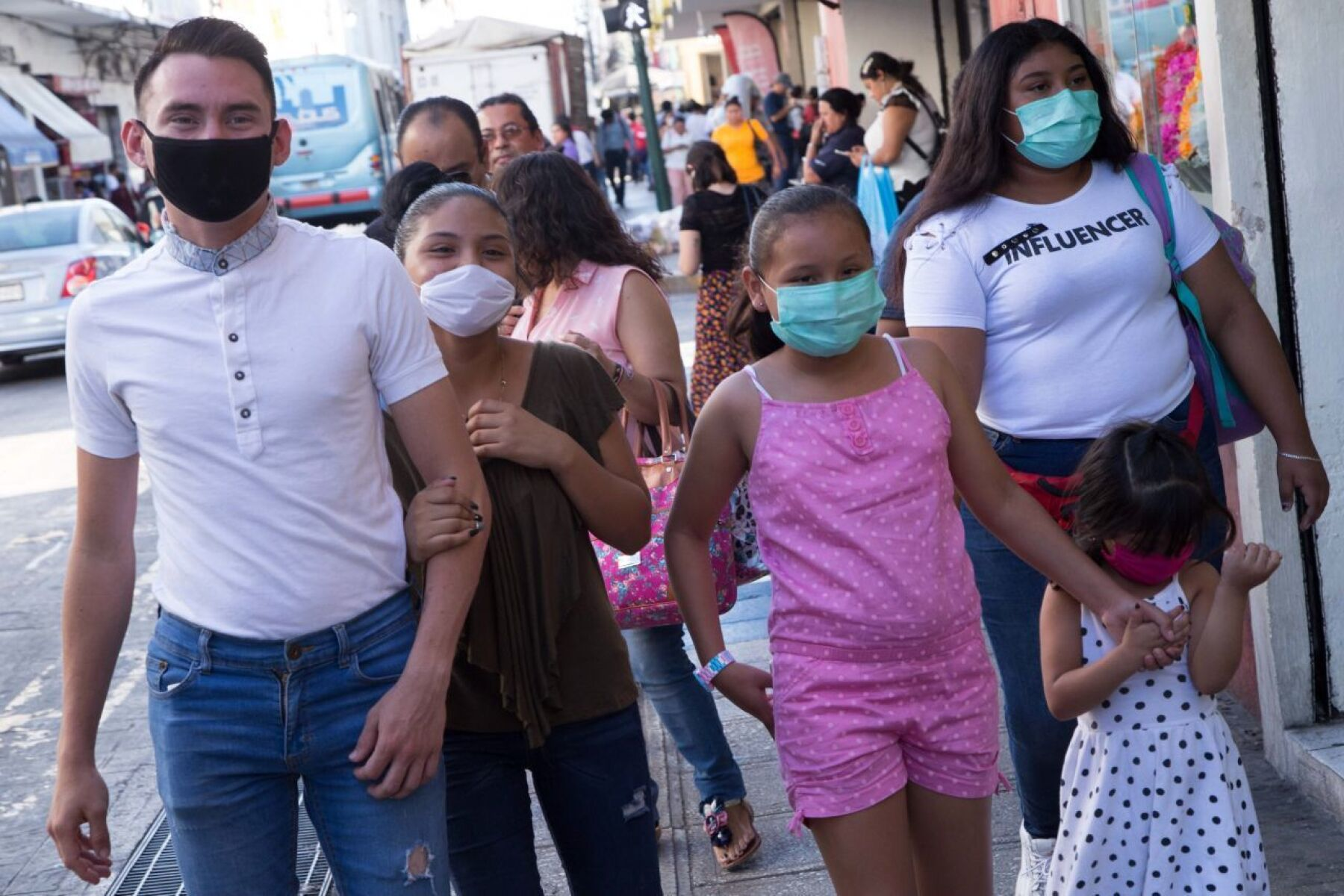 polvo del sahara península de Yucatán