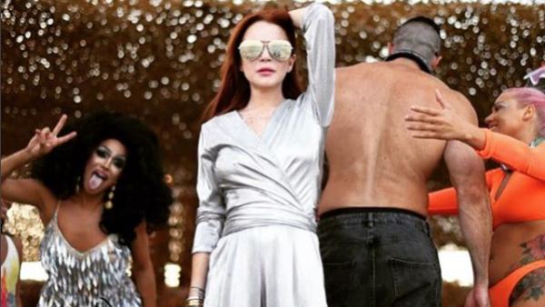 Lindsay Lohan Instagram Mykonos