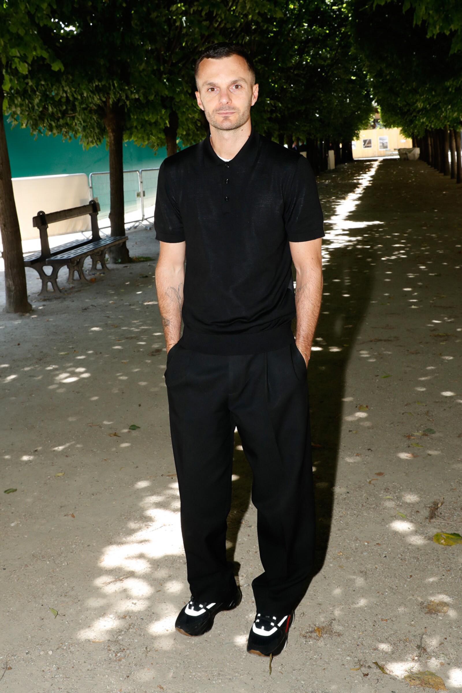 Louis Vuitton: Front Row - Paris Fashion Week - Menswear Spring/Summer 2019