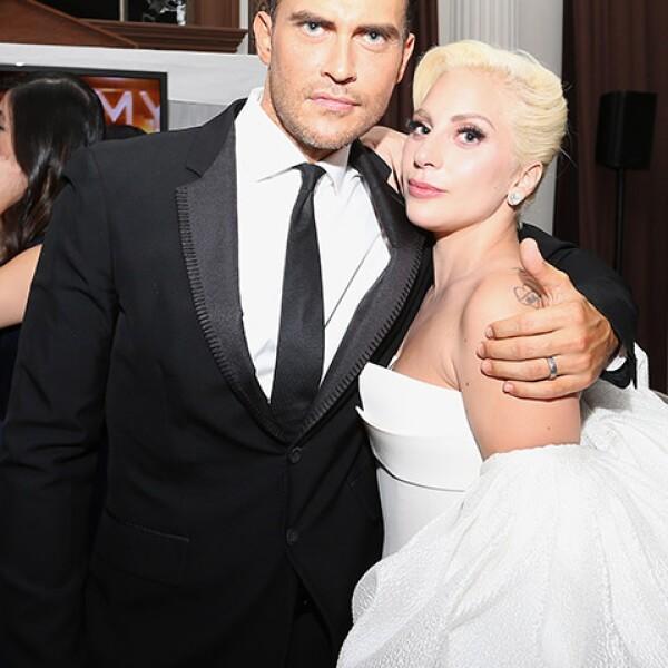 Cheyenne Jackson y Lady Gaga