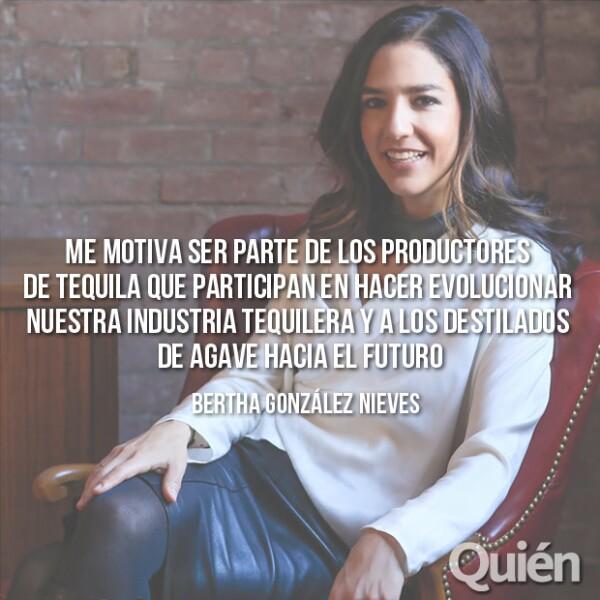 Bertha González Nieves, CEO & cofundadora de Casa Dragones. Es poseedora de un conocimiento sin igual en la industria tequilera.