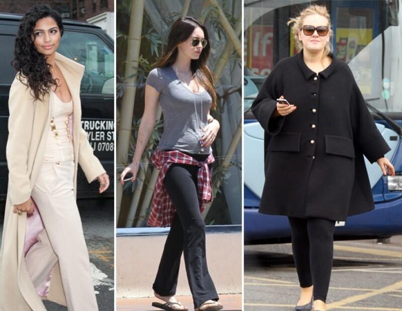 Camila, Megan y Adele se convertirán en madres muy pronto.