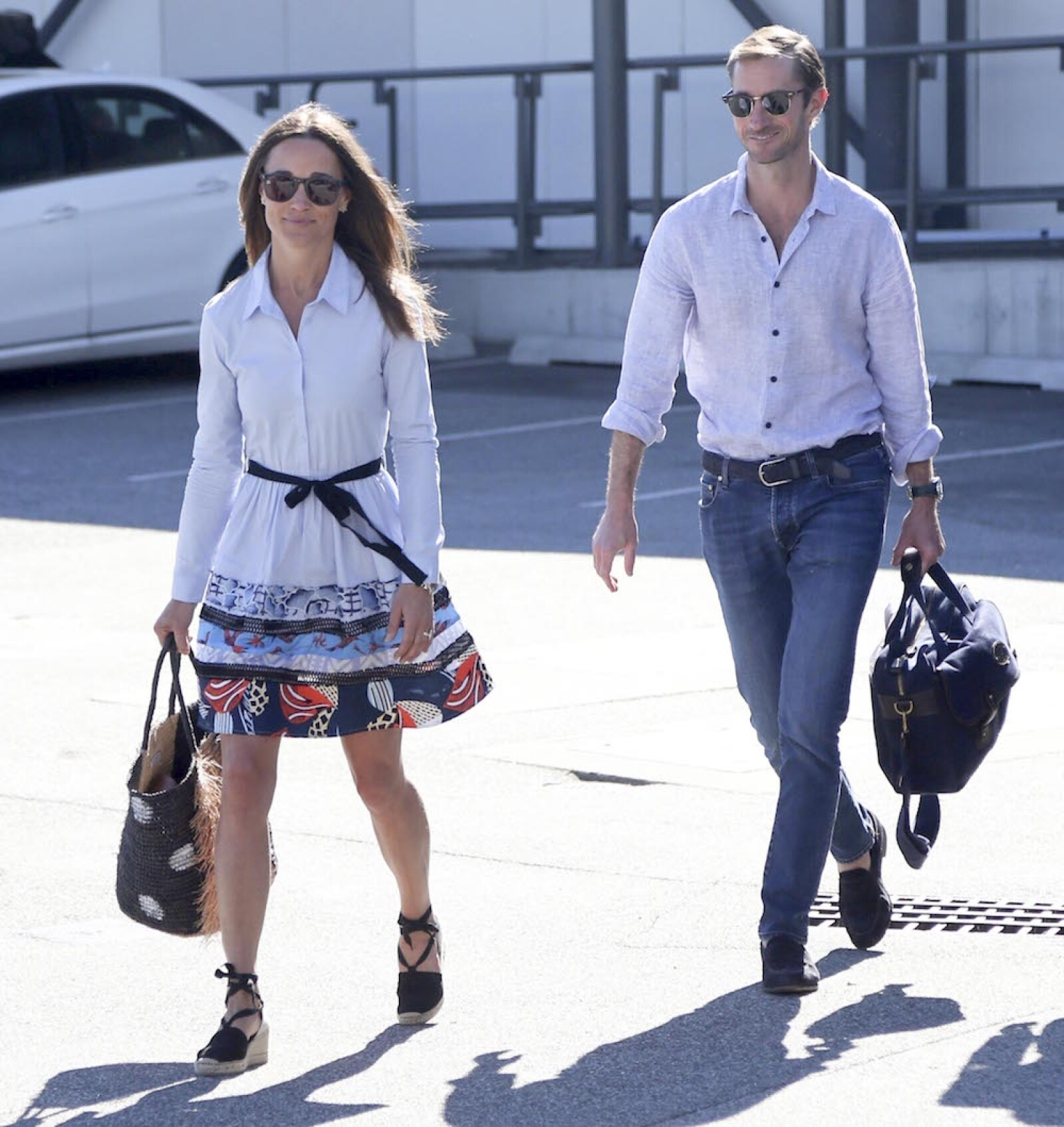 EXC Pippa Middleton and her new husband James Matthews