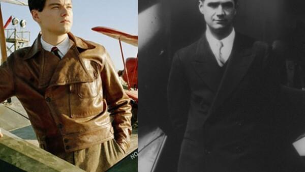 En `El Aviador´ Leonardo Dicaprio fue Howard Hughes.
